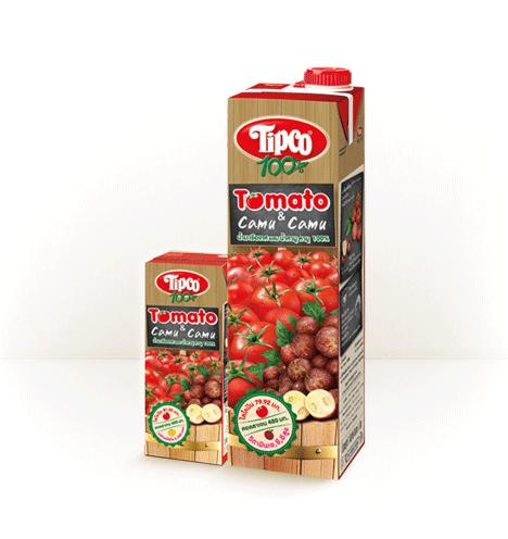 ทิปโก้ น้ำมะเขือเทศผสม คามู คามู 100%