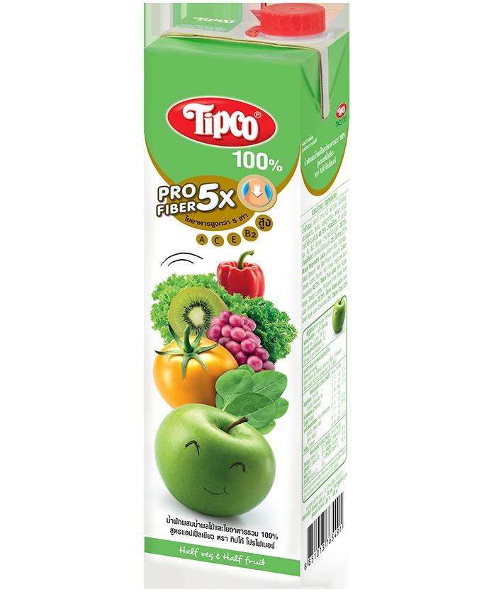ทิปโก้ โปรไฟเบอร์ สูตร แอปเปิ้ลเขียว