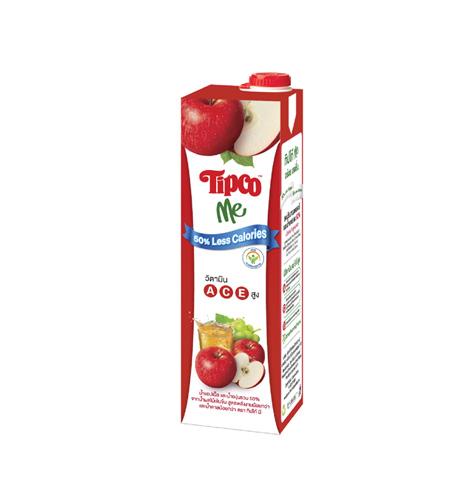 ทิปโก้ มี น้ำแอปเปิ้ล และน้ำองุ่นรวม