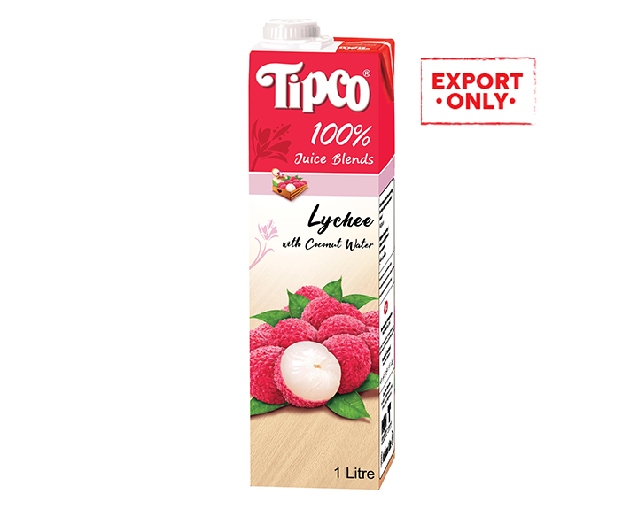 100% Lychee Juice with Coconut Juice