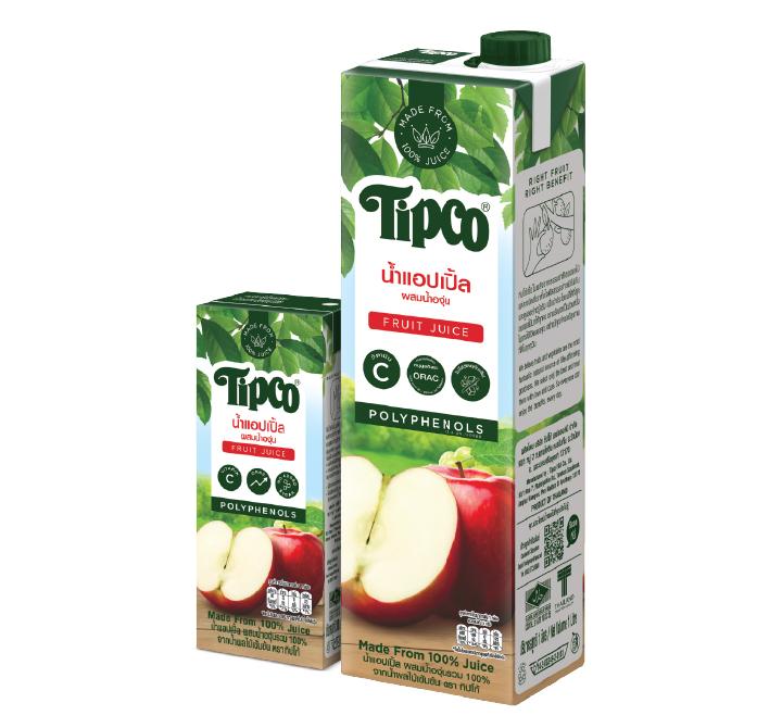 น้ำแอปเปิ้ลผสมน้ำองุ่น 100%