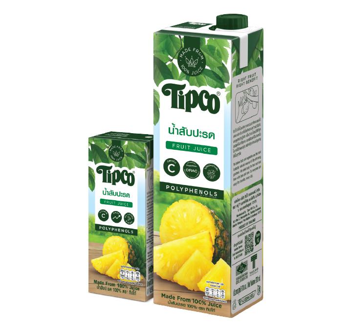 น้ำสับปะรด 100%