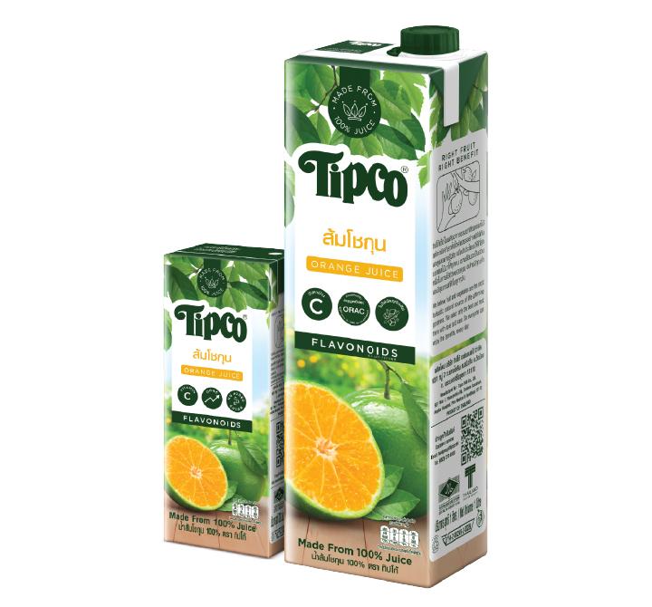 น้ำส้มโชกุน 100%