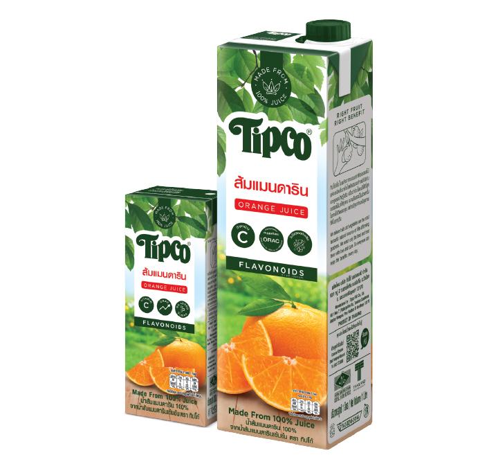 น้ำส้มแมนดาริน 100%