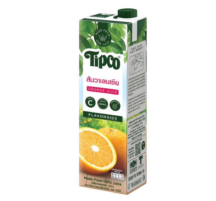 น้ำส้มวาเลนเซีย 100%